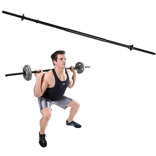 Gold's Gym Standard 3-Piece 5' Weightlifting Bar by Golds Gym