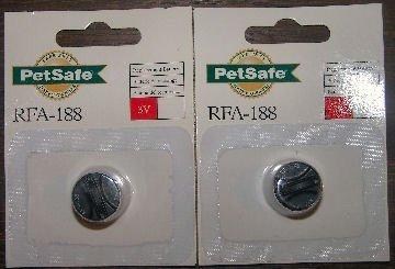 Petsafe RFA-188 Battery 2-Pack