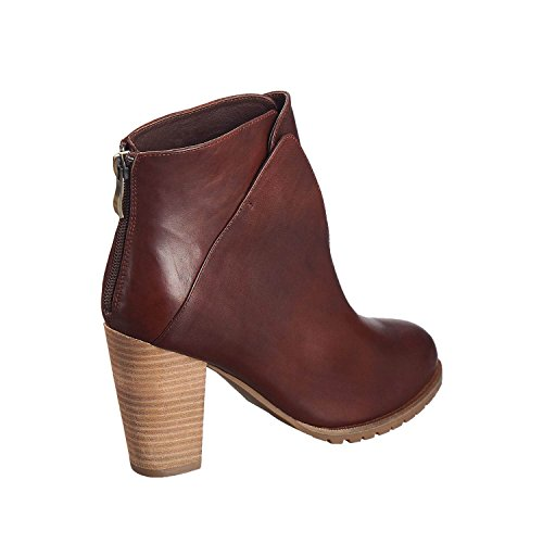 Antelope Leather Womens Leather Lugg Chestnut Overlay Low 615 cut Womens Antelope 615 ArqwFA