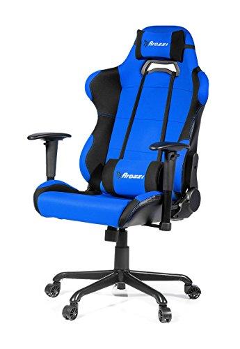 41rDSVydeHL - Arozzi-Torretta-XL-Series-Gaming-Racing-Style-Swivel-Chair-Blue