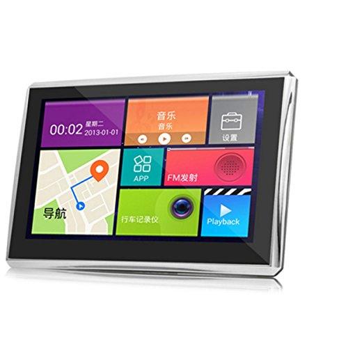 GPS Accès Internet WIFI Navigation FLY En Fonction De 5 Pouces Intégré 8G + FM + Bluetooth + Cache AV + 256 Après