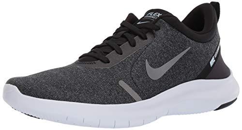 Nike Men's Flex Experience Run 8 Shoe, Black/Metallic Pewter-Topaz Mist-White 7 Regular US ()