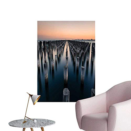 SeptSonne Vinyl Wall Stickers The Stake in The sea Perfectly Decorated,28