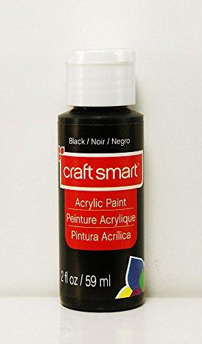 Craft Smart Acrylic Paint 2 Fl.oz. 1 Bottle Black