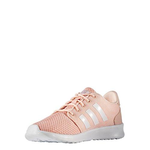 Adidas Damen Cloudfoam Qt Racer Sneakers, Roze Bianco
