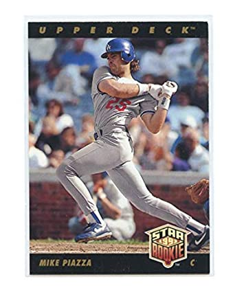 1993 Upper Deck 2 Mike Piazza Dodgers Star Rookie Card