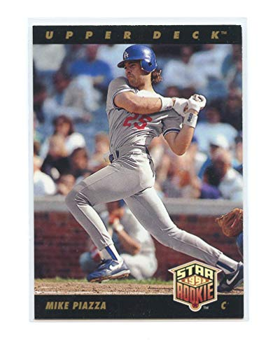1993 Upper Deck #2 Mike Piazza Dodgers Star Rookie Card- Mint Condition Ships in New Holder