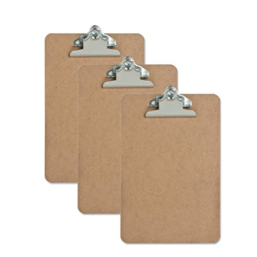 Pack Mini Clipboard Hardboard
