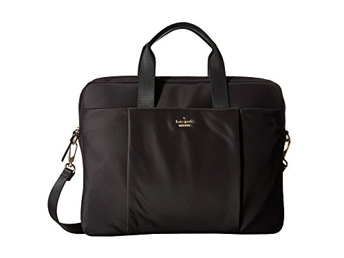 Kate Spade New York Women's Classic Nylon Laptop Commuter Bag Laptop Case Black Laptop Bag