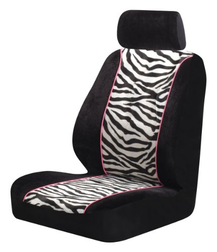 Auto Expressions 800002153 Black/Zebra Seat Cover for sale  Delivered anywhere in USA