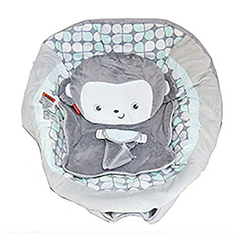 Replacement Seat Pad/Cushion/Cover for Fisher Price Sweet Surroundings Monkey Deluxe Bouncer (Model DTH01)