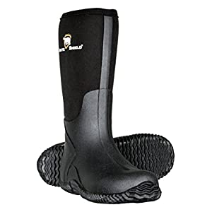Mens Black Rubber Boots,Black,12 D(M) US
