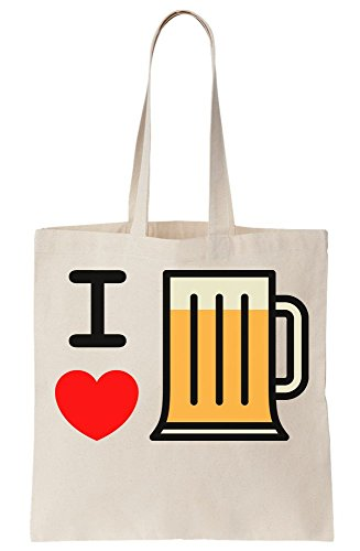 Beer Bag Love I Tote Canvas 5wRCIUxq