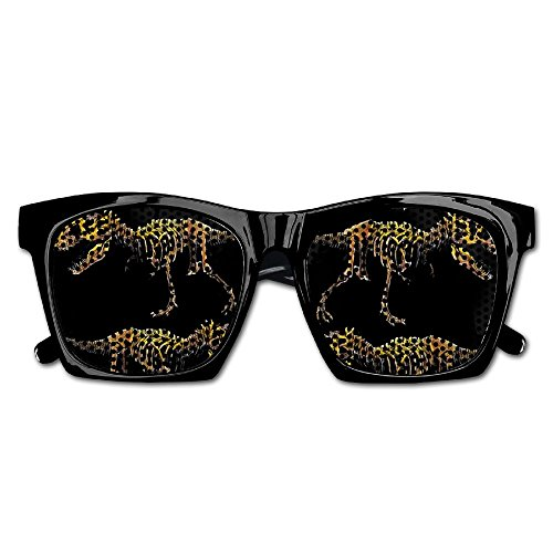 Elephant AN Themed Novelty Fossil Dinosaur Skeleton Fashionable Visual Mesh Sunglasses Fun Props Party Favors Gift - Dinosaur Sunglasses
