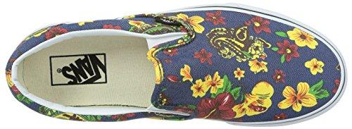 Vans Herren Slip on Classic Slip-on Slippers (aloha) dress blues