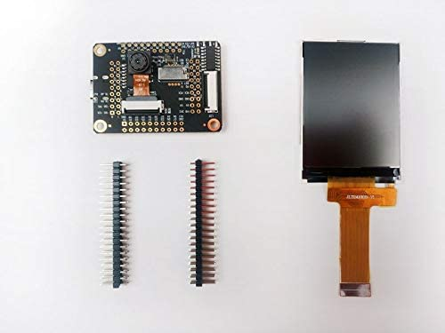 Board 1st RV64 AI Board for Edge Computing Sipeed M1w Dock Suit M1w Dock + 2.4 inch LCD + OV2640 K210 Dev
