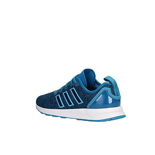 adidas ZX Flux Advanced, Zapatillas Unisex Adulto Blanco-Azul