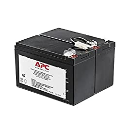 APC UPS Battery Replacement for APC UPS Models BR1500LCD, BX1500LCD, BR1200G, BR1300LCD, BX1300LCD, BN1250LCD and Select Others (APCRBC109) 6 BUY ONLY GENUINE APC PRODUCTS! Genuine APC replacement battery cartridges (RBC) are tested and certified for compatibility to restore UPS performance to the original specifications Includes all required connectors, Battery recycling guide, Installation guide, Reusable packaging APCRBC109 is compatible with models BN1250LCD, BR1200LCDi, BR1500LCDI, BX1300LCD, BX1500LCD