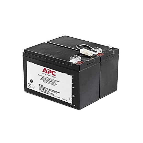 APC UPS Battery Replacement for APC UPS Models BR1500LCD, BX1500LCD, BR1200G, BR1300LCD, BX1300LCD, BN1250LCD and Select Others (APCRBC109) 1 BUY ONLY GENUINE APC PRODUCTS! Genuine APC replacement battery cartridges (RBC) are tested and certified for compatibility to restore UPS performance to the original specifications Includes all required connectors, Battery recycling guide, Installation guide, Reusable packaging APCRBC109 is compatible with models BN1250LCD, BR1200LCDi, BR1500LCDI, BX1300LCD, BX1500LCD