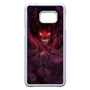 Shadow Demon Dota 2 Art 93,864 Samsung Galaxy S6 Edge + Plus caja del teléfono celular funda blanca del teléfono celular Funda Cubierta EEECBCAAL79753