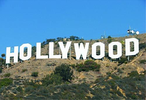 (Hollywood Sign, Los Angeles, California, Magnet 2 x 3 Fridge Photo Magnet)