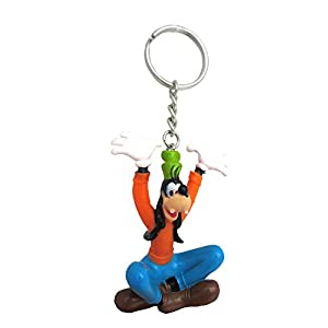 Disney Goofy Figural PVC Keyring,Multicolor