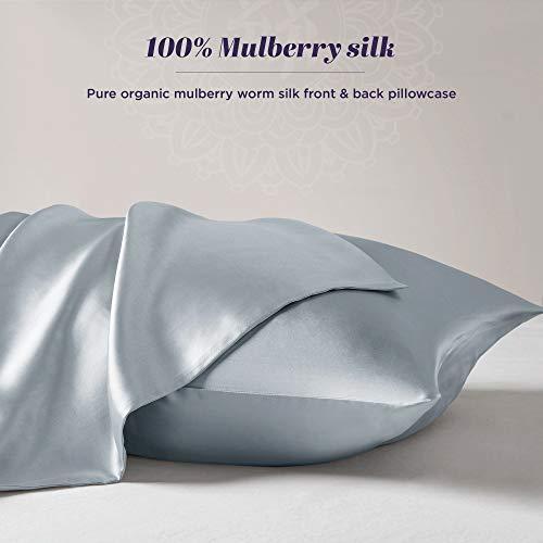 Amazon Com Pure Silk Pillowcase 100 Organic Mulberry