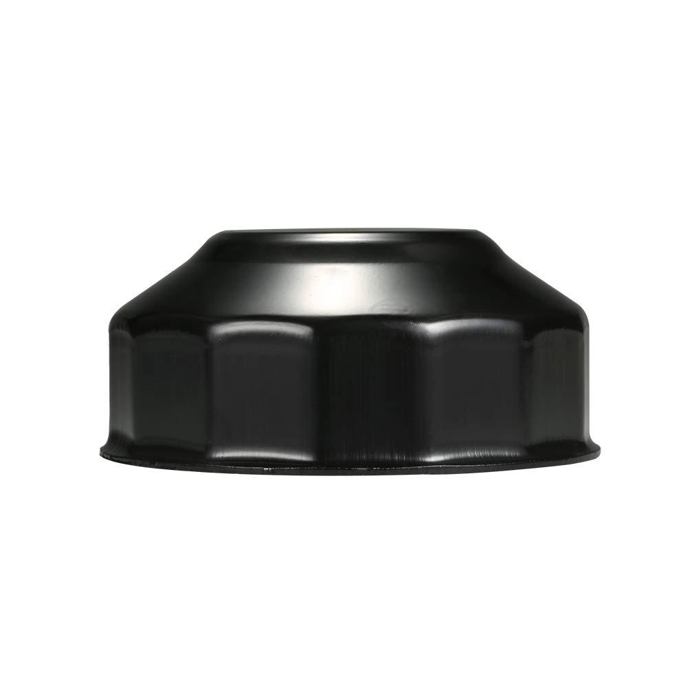 Herramienta de Removedor de Tapa Tipo Vaso de Aceite de 76 mm x 15 Canales Festnight Llave de Filtro