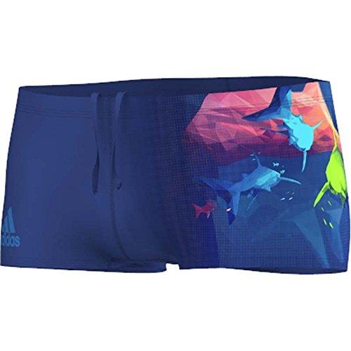 Adidas Adiclub Short de bain Junior - Marine / Bleu Choc