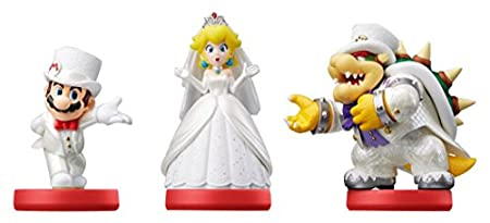 Amiibo - Mario/Peach/Bowser (Wedding 3-Pack) (Super Mario Odyssey)