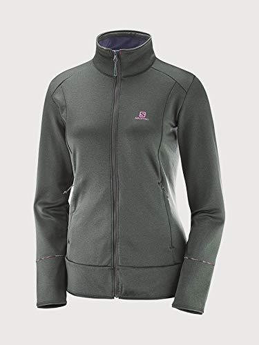 Women's Jacket Discovery chinà foncà Salomon gris B6Sxn68