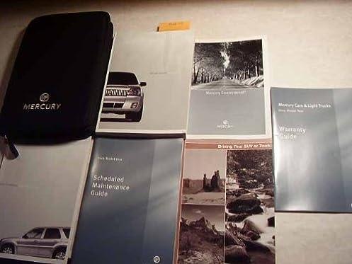 2005 mercury mariner owners manual mercury amazon com books rh amazon com 2010 Mercury Mariner 2004 Mercury Mariner