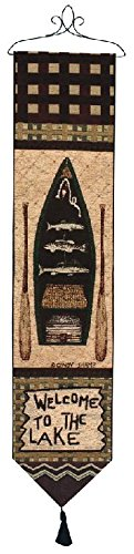 Cheap Manual Woodworkers & Weavers Tapestry Bell Pull, Big Bear Lodge