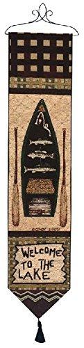 [Manual Woodworkers & Weavers Tapestry Bell Pull, Big Bear Lodge] (Big Bear Lodge)