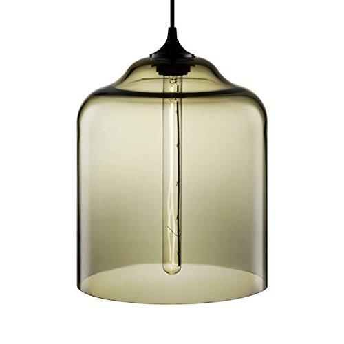 Smoke Bell Pendant Lighting in US - 6