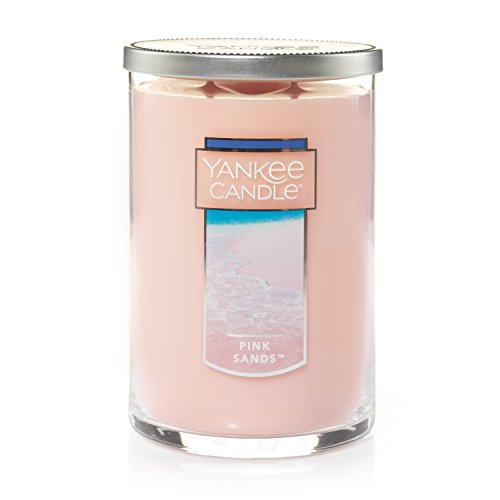 (Yankee Candle Large 2-Wick Tumbler Candle, Pink Sands)