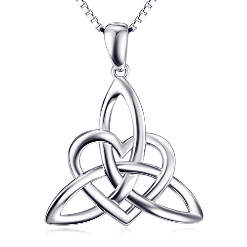 Sterling Silver Triangle Pendant Necklace product image