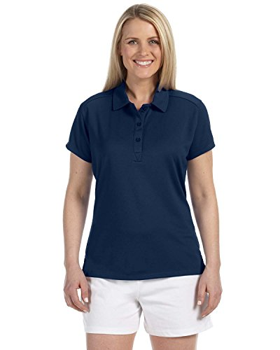 Russell Athletic Women's Essential Polo Navy ()