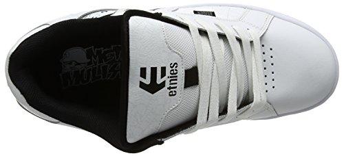 Etnies Männer Fader 2 Skate Schuh Weiß / Schwarz / Grau