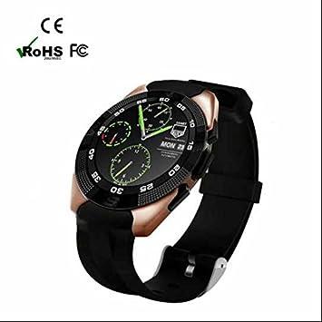 Muti Tiempo Zona Relojes, podómetro Smartwatch con mando a ...