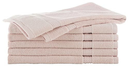 Grand Patrician Suites Pale Dogwood 6 Piece Hand Towel Set (Gray Pink Towels And)
