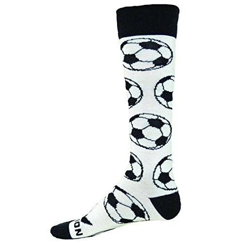 Youth Soccer Socks Boys Girls 1 / 3 / 6 Pack Knee High Strip