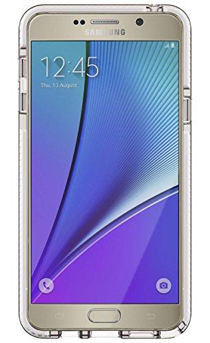 Tech21 Evo Check for Samsung Galaxy Note5 - Clear/White ()
