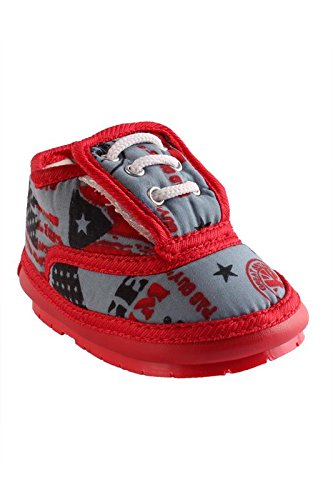 d2a9f9f014e CHiU Red Chu-Chu Checks Shoes for 18-21 Months Baby Boys   Baby Girls (Size  - 6 UK