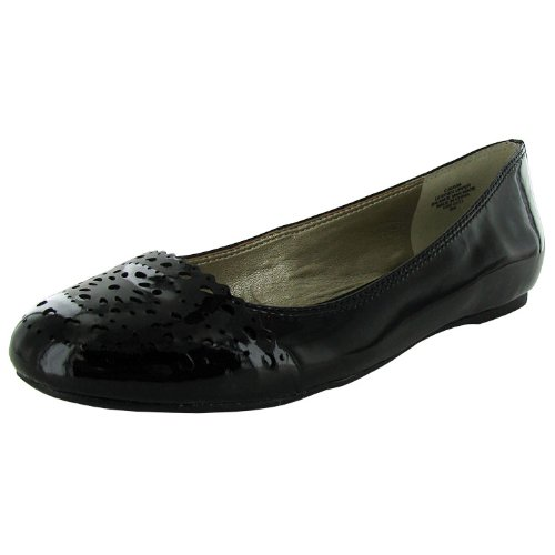 Circa Joan & David Women's Xavia PA Flat,Black,6.5 M - Circa Leather Sneakers