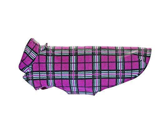 - RC Pet Products Whistler Winter Wear V.2 Fleece Dog Coat, Size 22, Raspberry Tartan