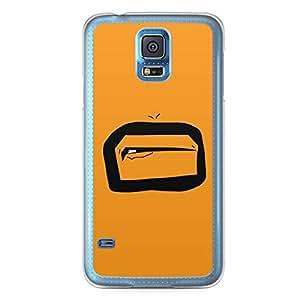 Smiley Samsung Galaxy S5 Transparent Edge Case - Design 5