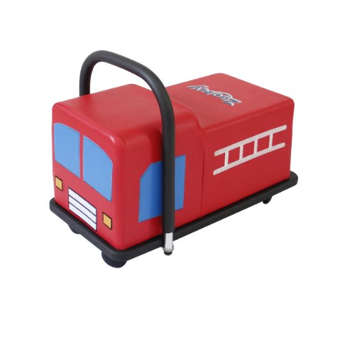 Fire Truck Riding Pedal Car (Active Play Zoomy Firetruck Ride On)