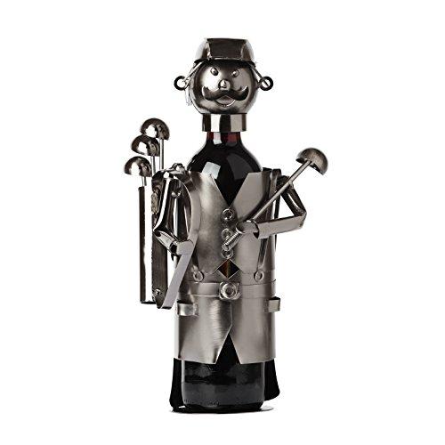BRUBAKER Wine Bottle Holder Statue