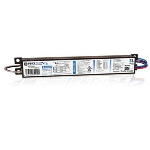 ballast for fluorescent light com ge lighting 74459 ge332mv l 120 277 volt multi volt proline electronic fluorescent t8 instant start ballast 3 or 2 f32t8 lamps